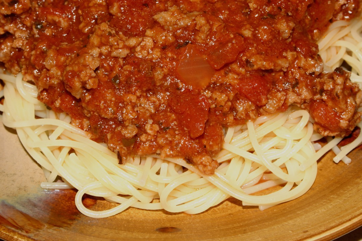 Baby Food Recipes: Spaghetti with Meat Sauce