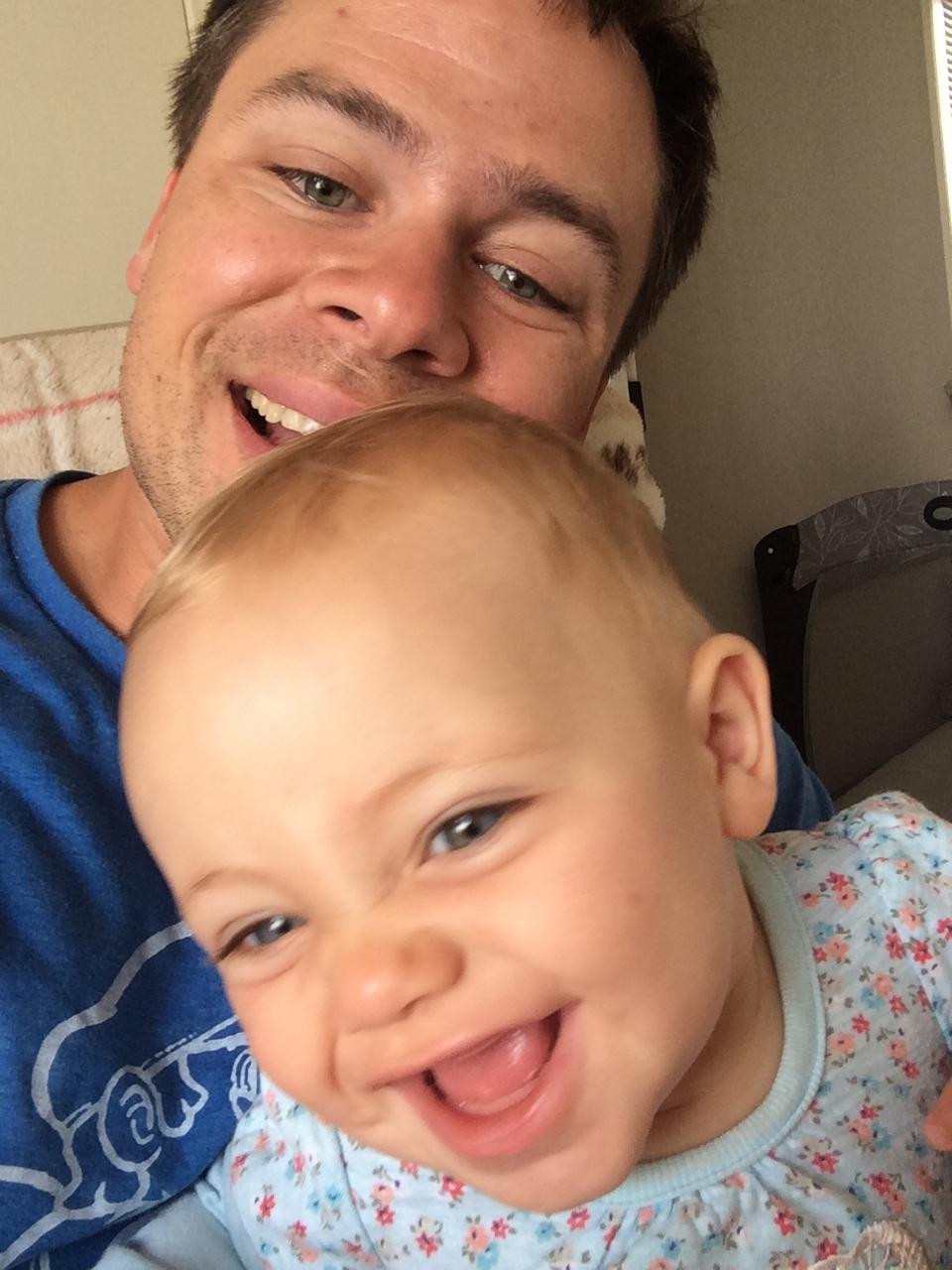 Me and Frey Frey... selfie!!!
