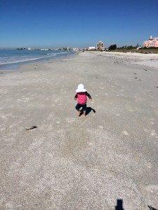 Freya on St. Pete Beach