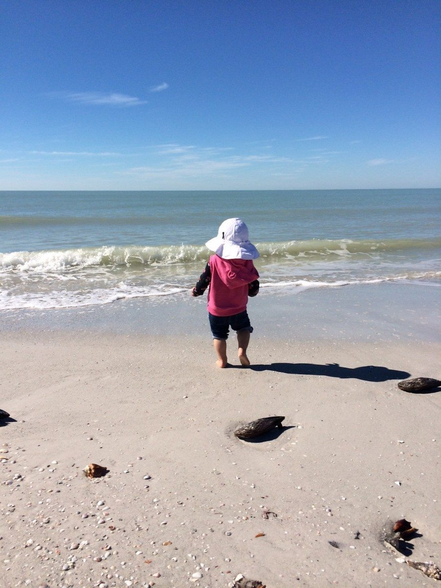 St. Petersburg, FL, Beaches and Baby Teething