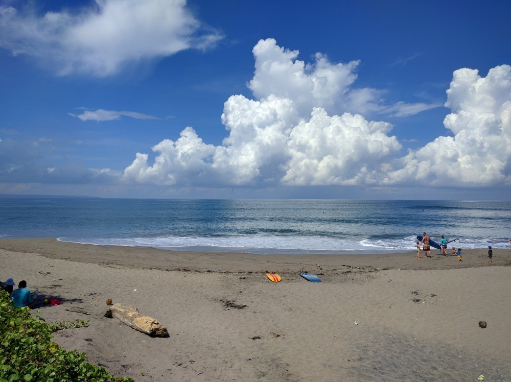 Hanging out in Canggu, Bali