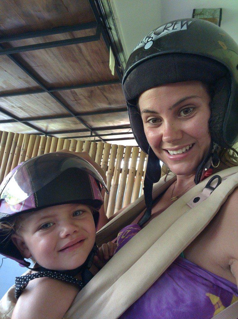 In Ergo Helmets On